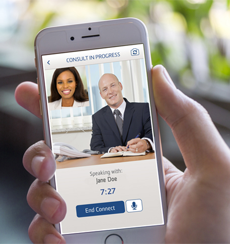 Mobile Video Banking on Phone